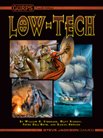 GURPS Low-Tech Companion 3: Daily Life and Economics – Cover