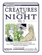GURPS Creatures of the Night, Vol. 2 – Cover
