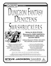 Dungeon Fantasy Denizens: Swashbucklers