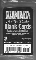 Blank INWO Cards