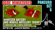Paneuropean Set 6 – Howitzer Battery and Mobile Artillery Troop