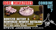 Combine Set 7 - Howitzer Battery and Reinforced   Infantry Battalion
