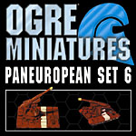Ogre Miniatures Paneuropean Set 6 - Howitzer Battery and Mobile Artillery Troop
