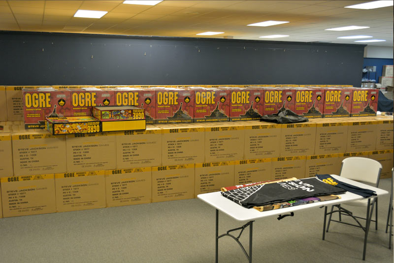 Sooo many Ogre boxes